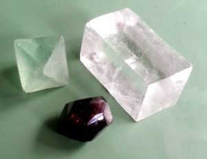 Crystals like the flourite, calcite, or garnet here show properties, that can easily be expressed in mathematical terms. Social behavior seams to be random, however, data science can help us detect laws and patterns, that can be expressed in mathematical functions like the shape of the crystals.